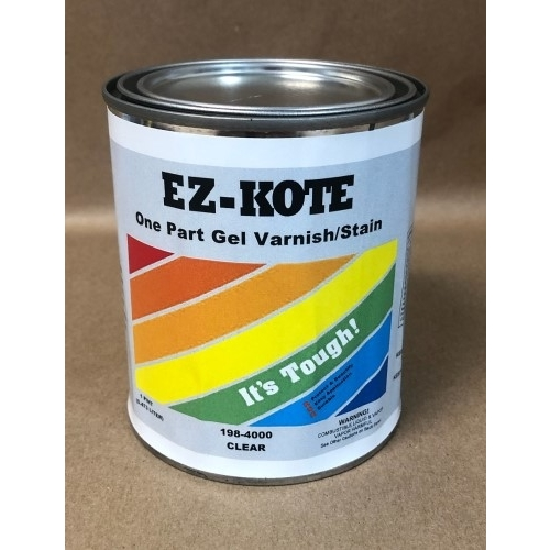 EZ-Kote One Part Gel Varnish/Stain - PINT
